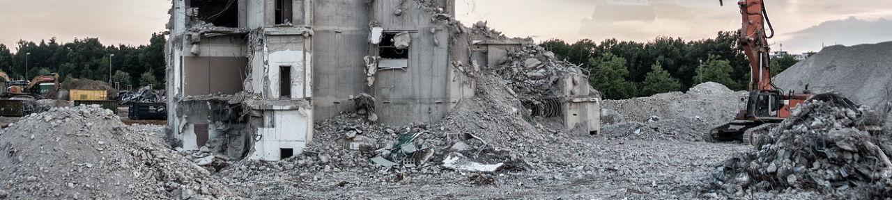 Demolition, demolition cleanup
