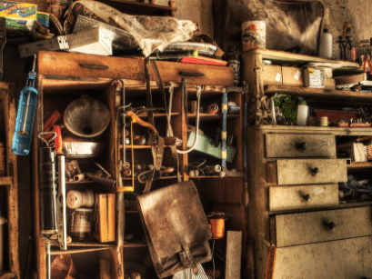 hoarding, collecting and hoarding